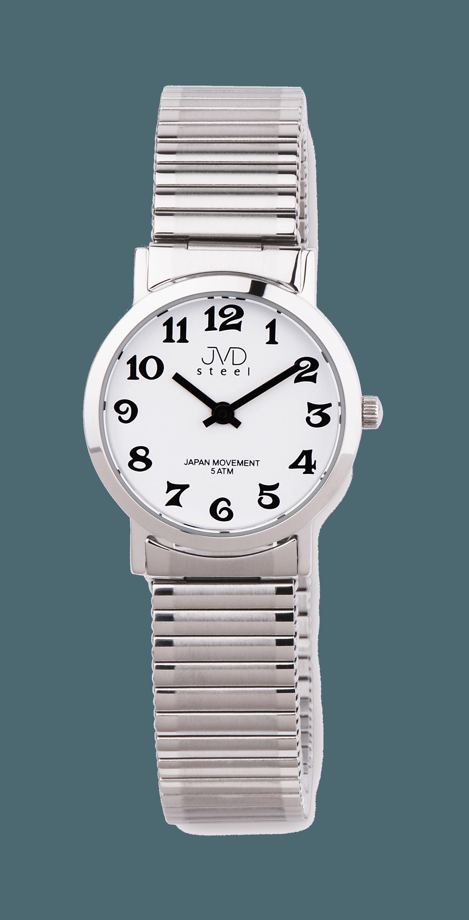 8918f983ac5 Náramkové hodinky JVD steel J4012.1