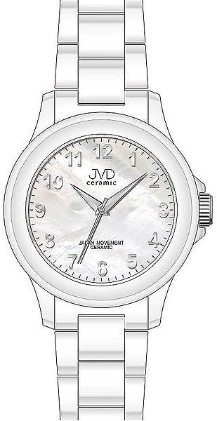 Náramkové hodinky JVD ceramic J6009.1 - sk  ecd8ba228f9