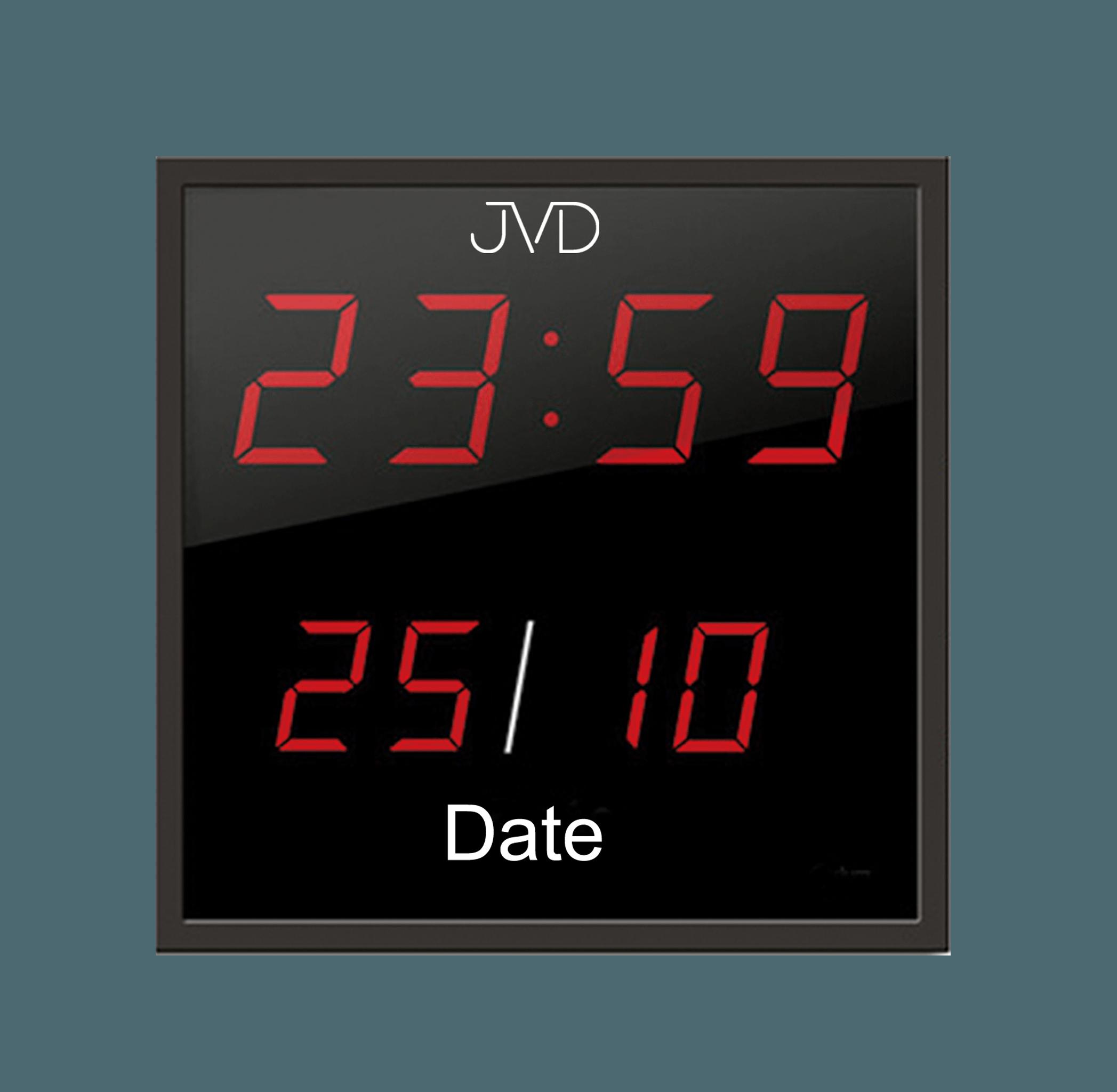 Digitalní nástěnné hodiny JVD DH41 - cs  9493d7b2eae