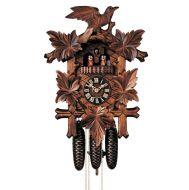 Hand carved cuckoo clock Hönes K8600/5T